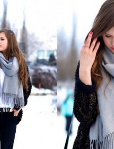 围巾围法有哪些 冬季怎么围围巾才好看