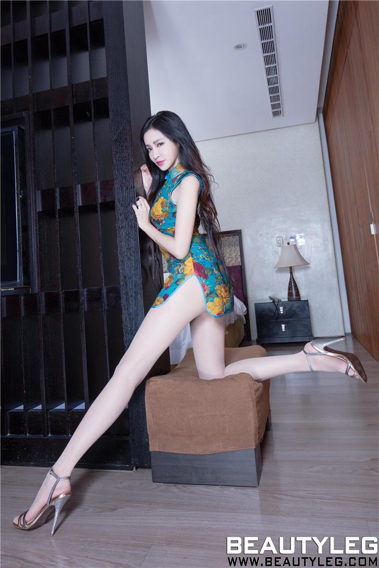 长腿 黑丝袜美女_[Beautyleg]短旗袍长腿美女丝袜足交美腿写真_关注网图库