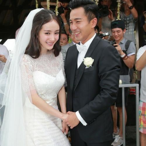 刘璇婚礼现场图片_杨幂和刘恺威的结婚图片_关注网图库