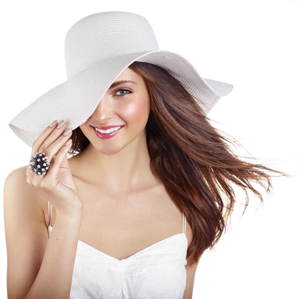 气质高雅_气质高雅的美女帽子图片_关注网图库